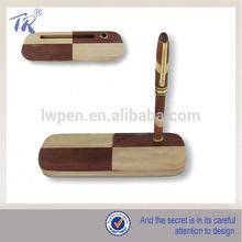 Burlywood Eco Friendly calligraphy pen set