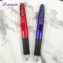 Top products hot selling new 2014 write ballpoint pen 4 in 1 pen