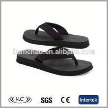 popular wholesale usa fashion black wooden sandals mens