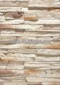decorativa de pedra de imitação do painel de parede