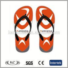 fashion bulk wholesale high quality personalized orange men sandals 2012
