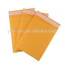 C4, C5, letter size gold kraft catalog envelope