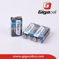 super pilas alcalinas 6lr61 batería de 9v de la batería