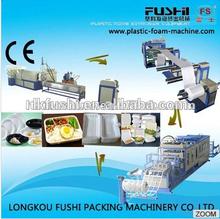 PS Foam Plastic Dishes/Plates Manufacturing Machine