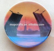 Ceramic Saint Petersburg Russia plate fridge magnet