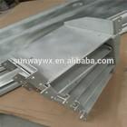 CNC processed aluminium parts with powder coating