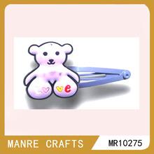 2014 new hair clip cute bear hair clip mini baby hair clip