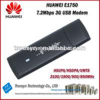 Hot-Sale Original Unlock 7.2Mbps HUAWEI E1750 Driver HSDPA 3G Wireless USB Modem