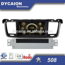 Peugeot 508 car gps navigation multimedia/Car multimedia system peugeot 508/Peugeot 508 car dvd player