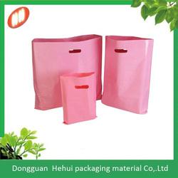 Popular customized plastic LDPE shopping bag