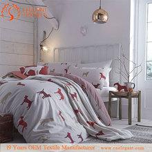 Horse Printing Bedding Set bed in a bag set