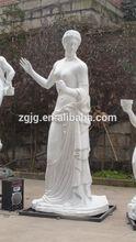 Fiberglass amusement park equipments life size figure statue