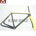 disco de freio de fibra de carbono frame cyclocross quente de carbono cyclocross quadro pintura livre