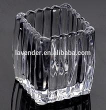 crystal lotus flower candle holder wedding favors candle holder