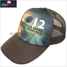Custom sublimating print mesh trucker hat/cap