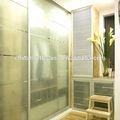 vidrio esmerilado interior puertas de cuarto de baño
