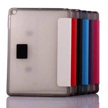 flip pu card slot leather case for ipad mini