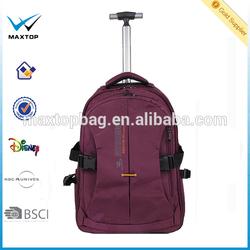Latest single trolley bag backpack
