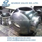 ASTM A182 F51 Class 2500 metal to metal valve balls