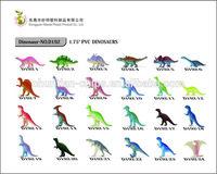 "1.75"" PVC dinosaurs toys,plastic animal toy,dinosaur"