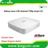 dahua 3D DVR 4 channel usb dvr h.264 4 All channel 720p smart 1U HDCVI DVR(HCVR5104C)