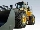 Forklift tire chain forklift snow chains made in china
