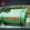 plásticos reforçados fibra underground tanque de combustível feito para a estação de gás