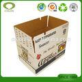 Cor personalizada impressa caixa de papelão ondulado para maçãs