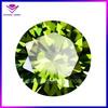 popular cz round brilliant cut peridot chinese gemstones