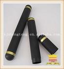 The black aluminum alloy cigar tube