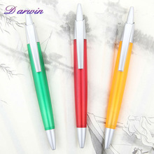Novelty promotional advertising retractable plastic ballpoint pen