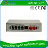 PCM Multiplexer with 4FXO/FXS Hotline Phone over fiber