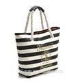 2014 de playa de moda ronda bolsa de manija de la cuerda del bolso de compras bolso de mano la bolsa de lona