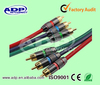 Top quality 3 RCA to 3 RCA cable VGA RCA audio cable