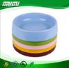 Pet product Custom Portable colorful plastic anti slip dog bowl