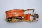5000daN container lashing equipment, safety belt cam buckle tie down, ratchet strap