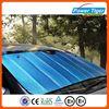 Mulit color PE Bubble car sunshade/sunshade car