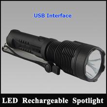 guangzhou jianguang lighting co ltd USB cree led handheld torch cree flashlight