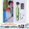 anodized gopro accessories colorful monopod selfie stick for mini moto