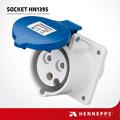 Henneppsip44 220v 32a 3-way toma de corriente de salida