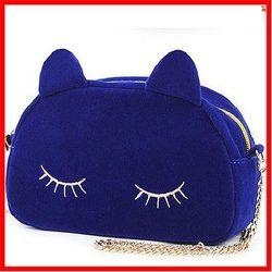 2014 women's rabbit fur ball bags mobile phone bag embroidery animal shaped handbag vintage shopping handbags hot selling