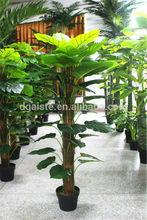 Artificial 0.5m~4m palm tree [BS/08-30/504](PU/ficus/pot/vivid/,plastic cloth leaves / Este)