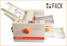 Automatic Desktop Paper Folding Machine for Pharmaceutical Leaflets