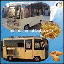 Big space beverage food concession trailer/Mobile food kiosk trailer