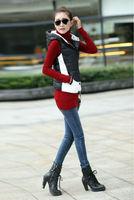 2015 New Products New Fashion Winter Autumn Colete Feminino Vest Women Solid Multicolor Down Vests Plus Size Waistcoat