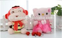 Mini Monkey & Soft Cat Stuffed Soft Toy Wholesale /Lovely Monkey toys