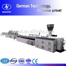 European technology high quality110, 240, 500 pvc profile extrusion line