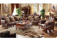 royal classical hotel carving sofa set A91