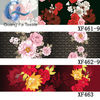 Microfiber polyester flower printed fabric for bedding