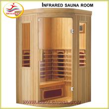 new arrival corner Infrared sauna room